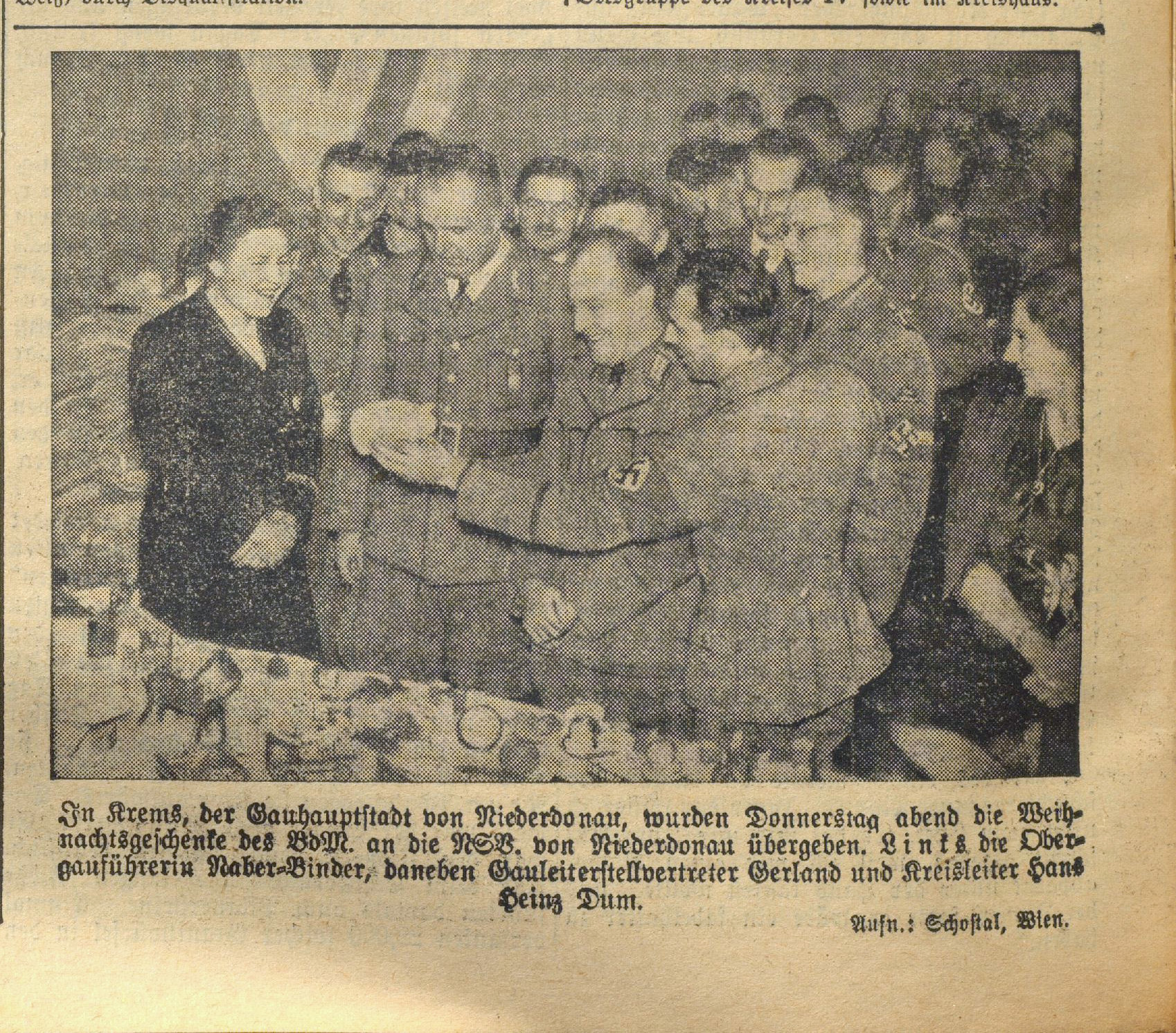 Kleine Volks-Zeitung 26. November 1938